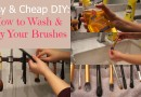 DIY: How To Properly Wash & Dry Your Makeup Brushes