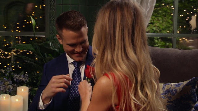 Front-runner Mike gets the first impression rose!