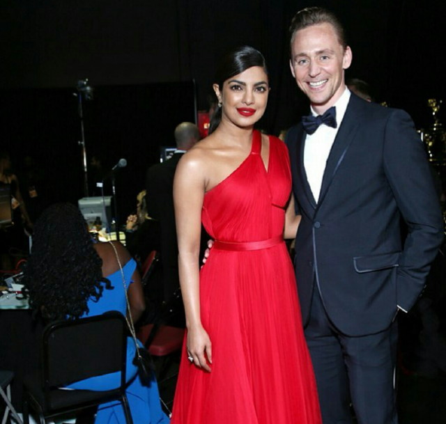 Priyanka and Tom