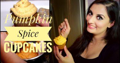 RECIPE: PUMPKIN SPICE CUPCAKES w/ PUMPKIN SPICE BUTTERCREAM FROSTING!