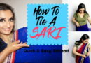 How To Tie a Sari…Quick & Easy Method!