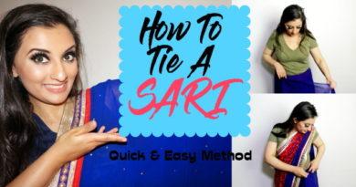 How To Tie a Sari…Quick & Easy Method!