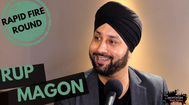 RUP MAGON Plays The Rapid Fire Round!  | Exclusive Interview
