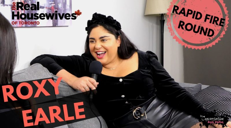 ROXY EARLE Plays The Rapid Fire Round! | Exclusive Interview