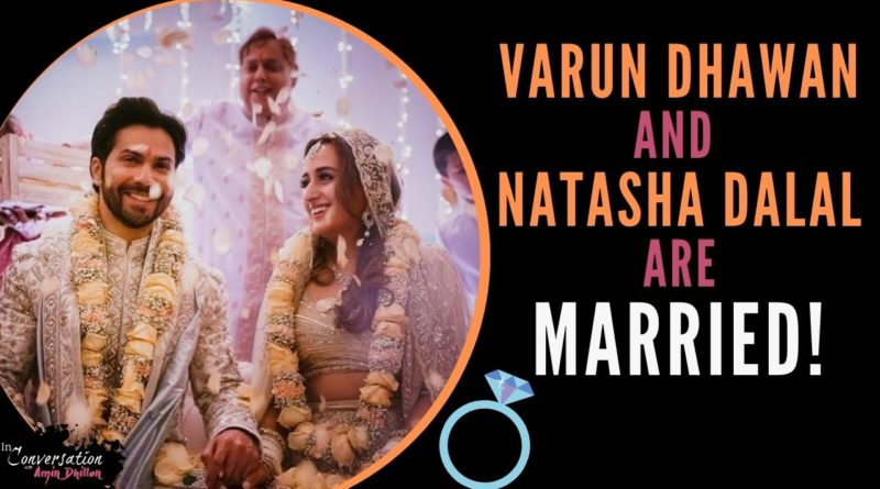 VARUN DHAWAN and NATASHA DALAL's Wedding Video! | Bollywood | Indian Weddings