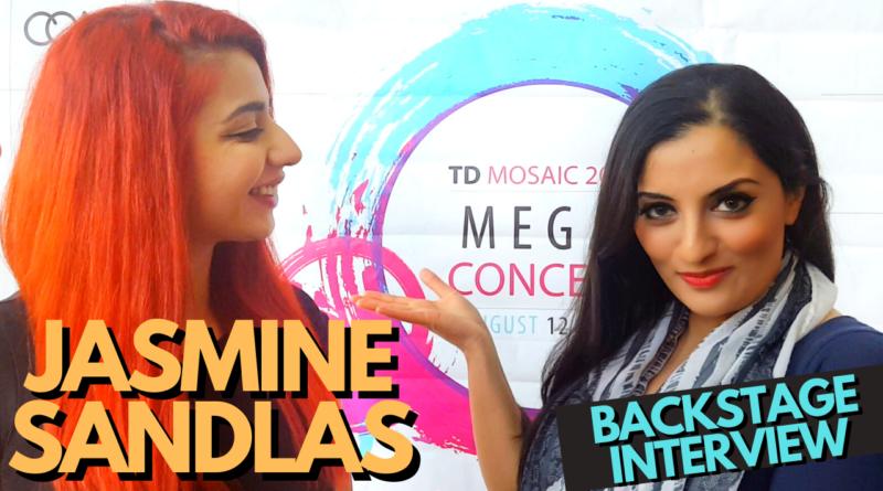 Rare and Hilarious Jasmine Sandlas Backstage Interview