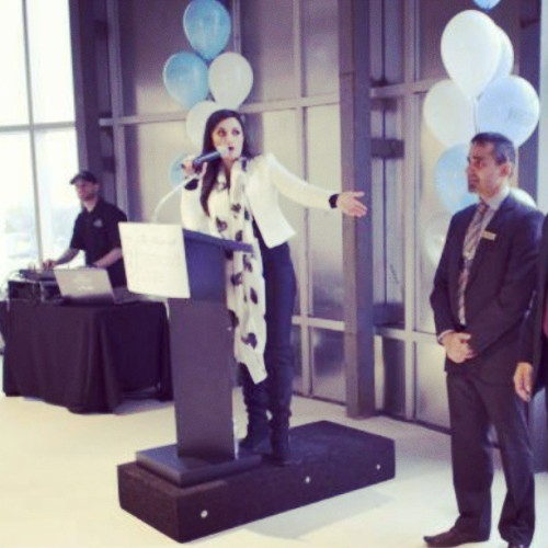 Hosting the mall expansion launch at Westwood Square