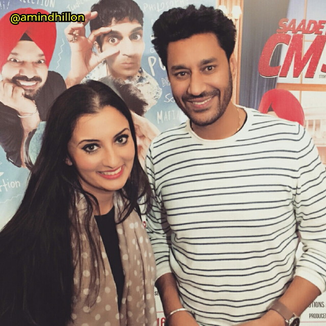 Harbhajan Mann was excited to be back in Toronto